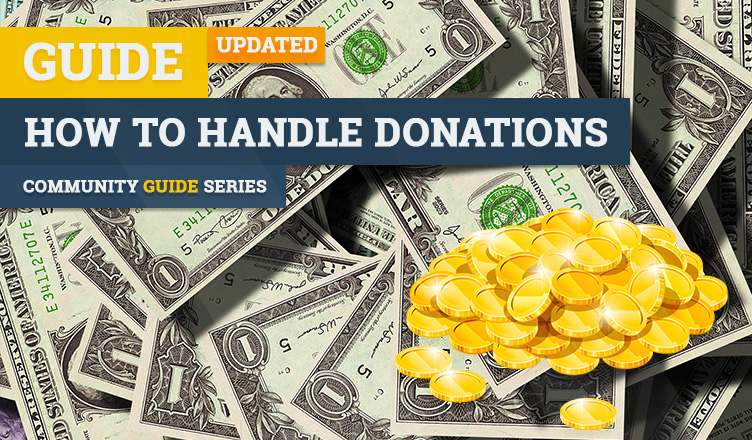 how to handle donations gaming server