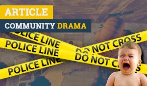 Community drama gaming forums