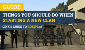 tips for starting a new roleplay clan