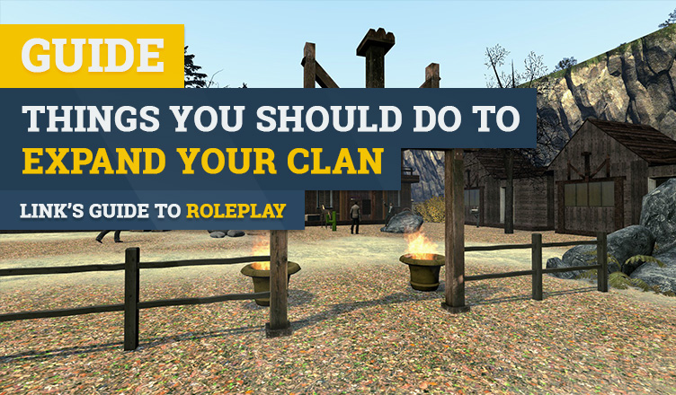 How to grow your clan roleplay