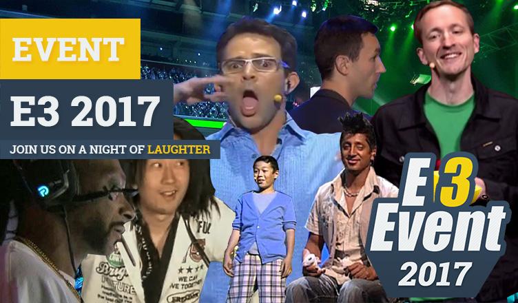 E3 2017 event help me