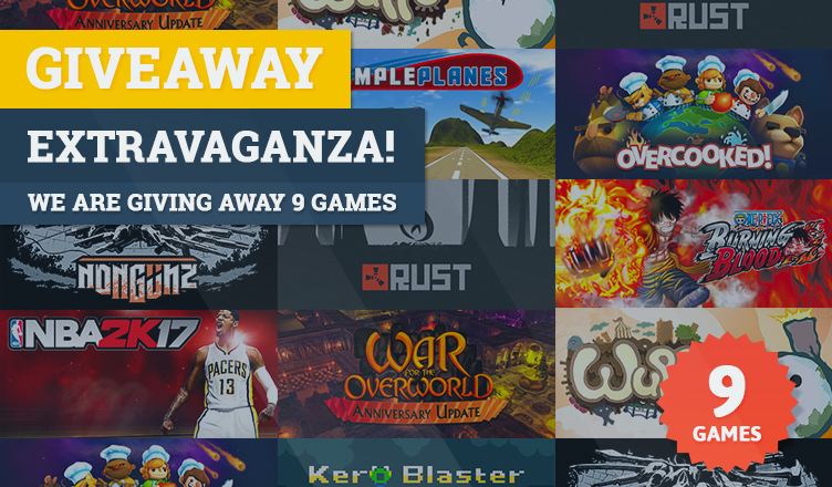 Rust game giveaway ended