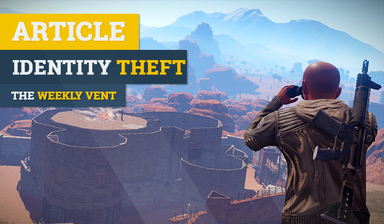 Identity theft within gaming weekly vent
