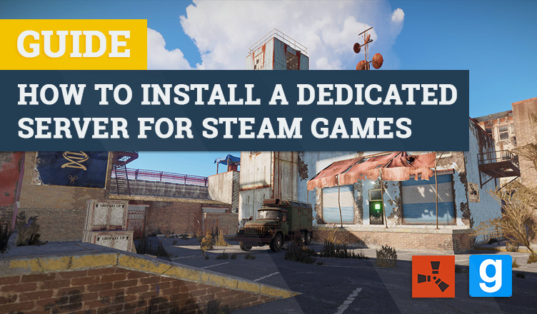 How to install a steam server