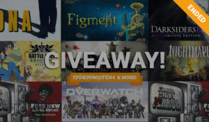 Overwatch giveaway 2018