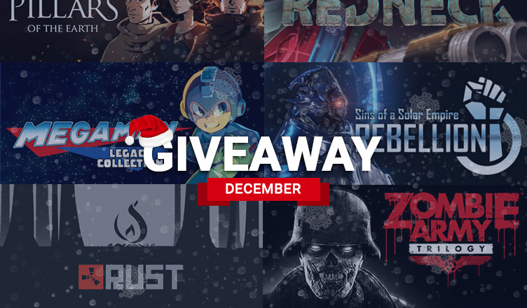 december 2018 games giveaway on Angry-Mob.com