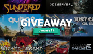 Angry-Mob games giveaway january
