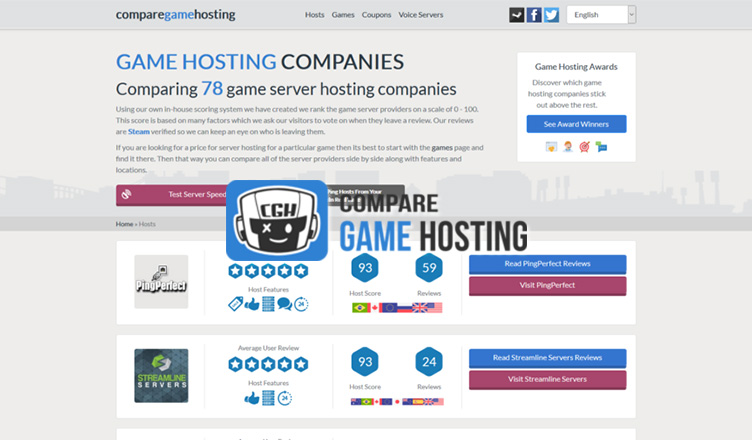 Interview with Alex from Compare game hosting