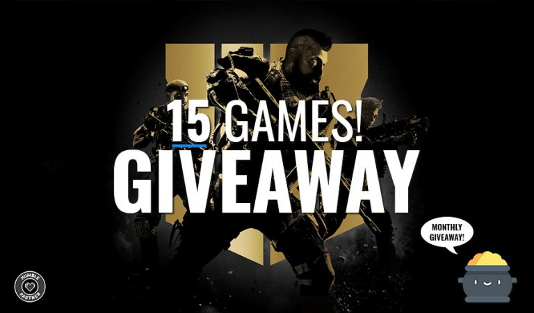 Angry-Mob 15 games giveaway Black Ops 4 Deluxe edition and more