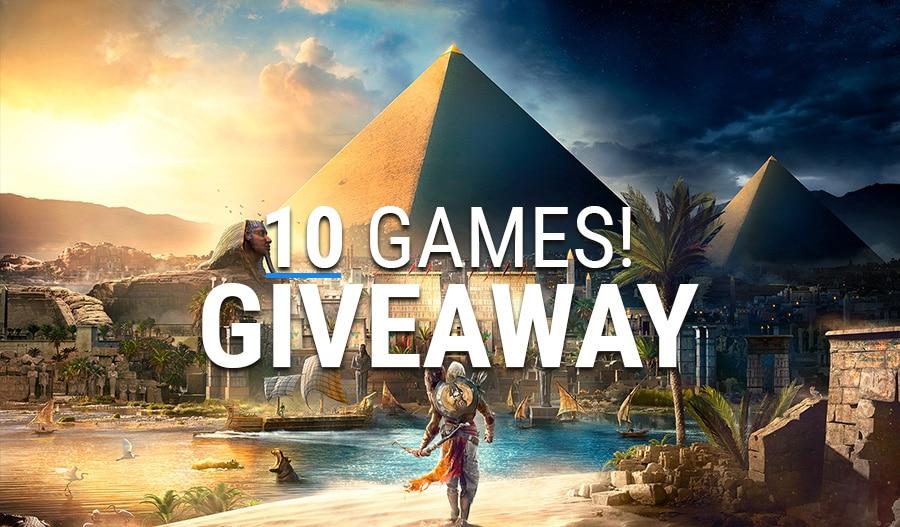 assassins creed giveaway april 2019 10 games
