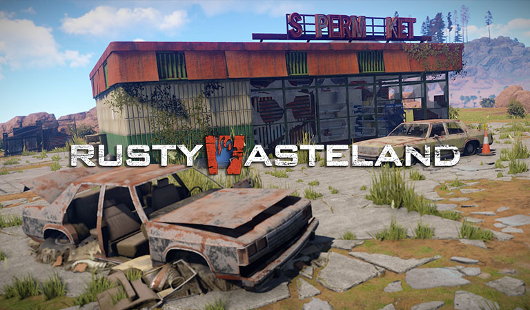Rusty Wasteland rust community interview